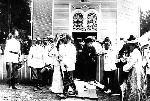 Император Николай II на Саровских  торжествах.