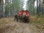 Заправились - и снова в лес