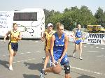 Лена Самарова атакует