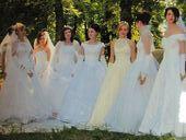 показ моделей свадебных платьев, организованный с участием свадебного салона «Торжество»