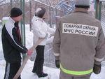 пожарные позволили полить каток. Как и друзей Тома Сойера, незабываемые ощущения)))