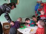 волонтеры отделения  16 в Темниковском детском доме