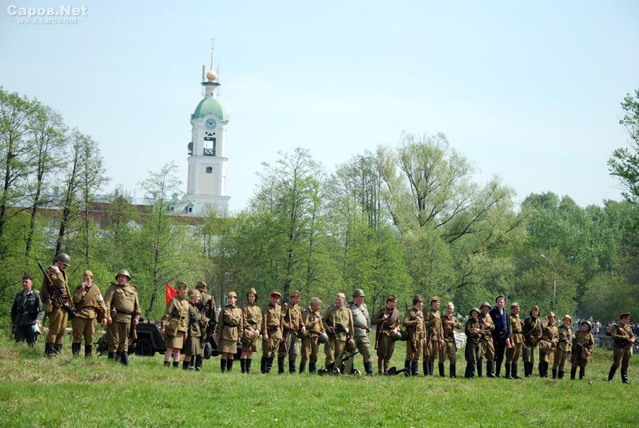 Фото из галереи.  Реконструкция сражения Великой Отечественной.